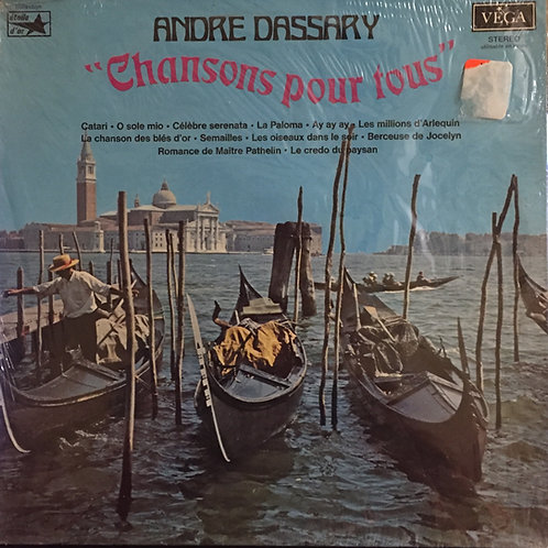 Andre Dassary Chanson pour tous
