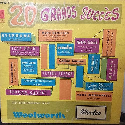 Compilation - 20 Grands Succes