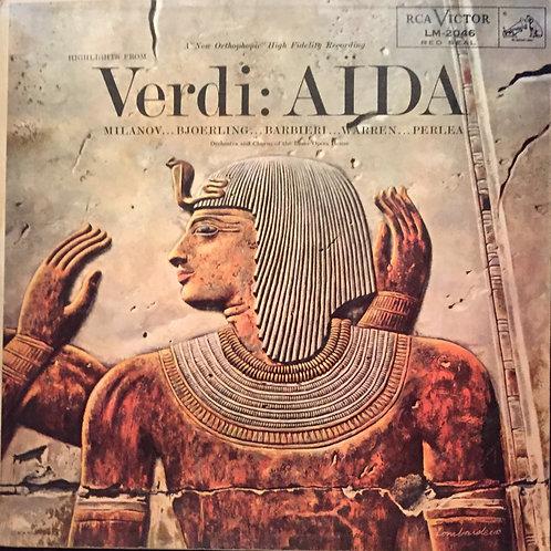 Verdi, Milanov, Barbieri, Bjoerling, Warren, Perlea– Highlights From Verdis Aïda