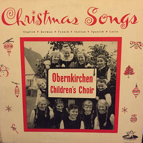 Obernkirchen Children's Choir ‎– Christmas Songs