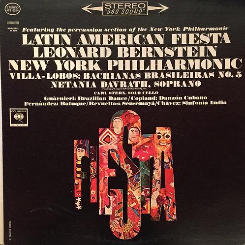 Leonard Bernstein and New York Philharmonic* – Latin American Fiesta