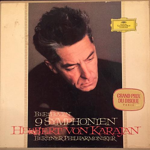 Beethoven* / Herbert Von Karajan, Berliner Philharmoniker – 9 Symphonien