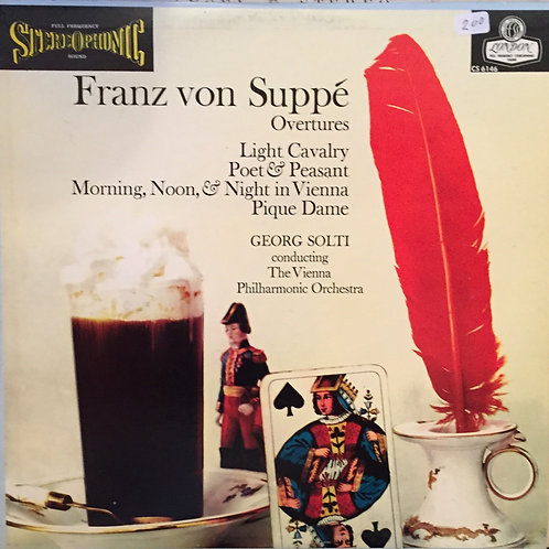 Franz von Suppé, Georg Solti, The Vienna Philharmonic Orchestra ‎–Ouverture