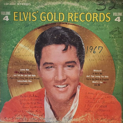 Elvis' Gold records vol 4