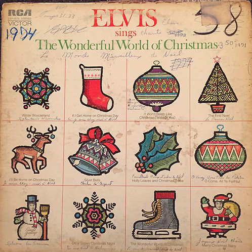 Elvis Presley – Elvis Sings The Wonderful World Of Christmas