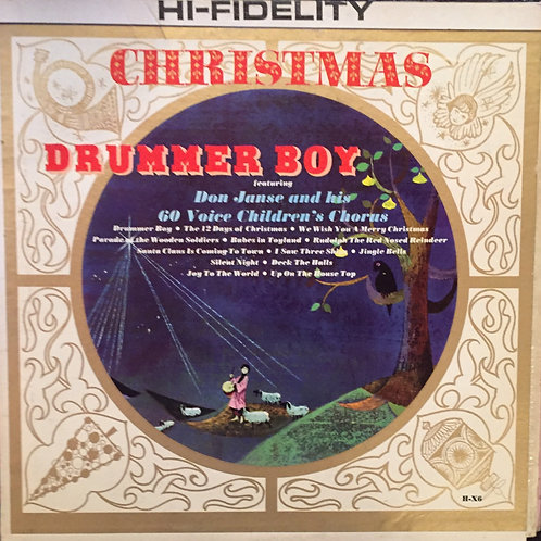 Don Janse And His 60 Voice Children's Chorus ‎– Christmas Drummer Boy