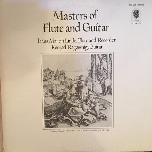 Hans Martin Linde, Konrad Ragossnig – Masters Of Flute And Guitar