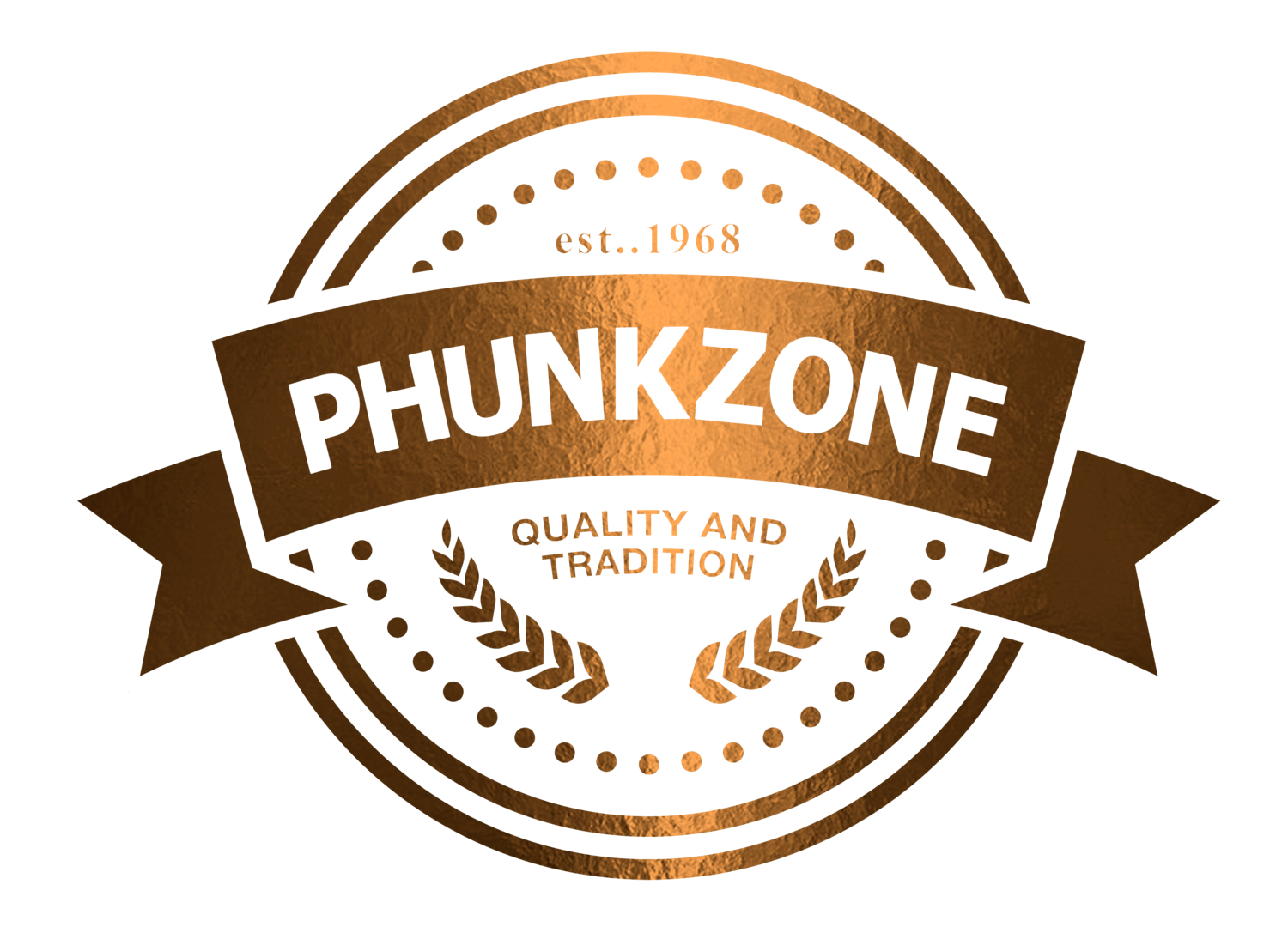 PHUNKZONE LOGO CORRECTION 4 GOLD 2 ON BLACK.png