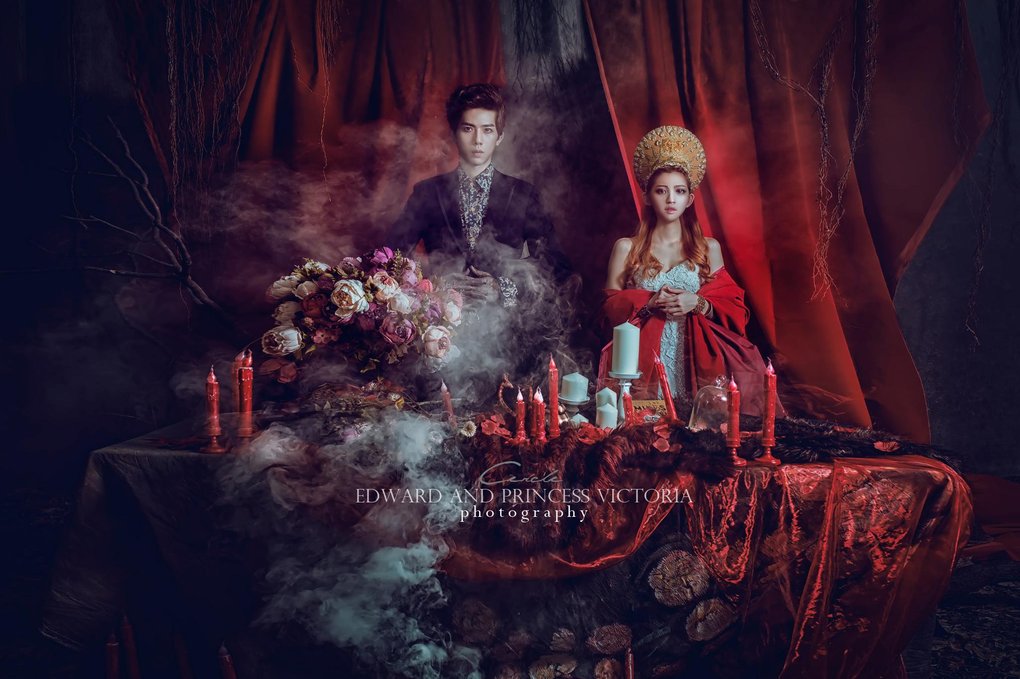 艾德華與維多莉亞公主