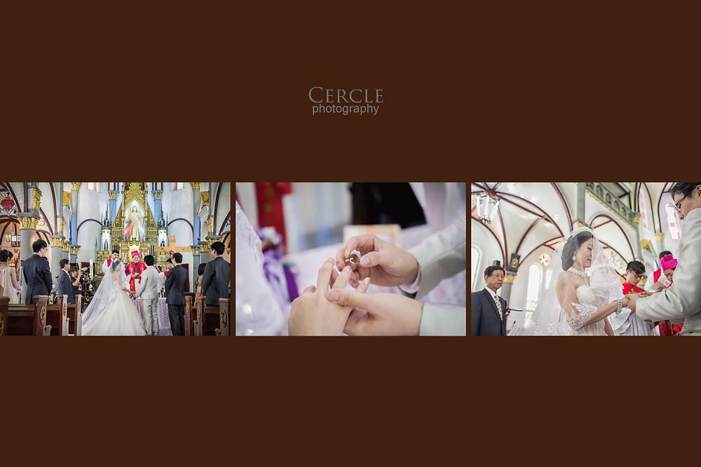 高雄婚攝  女攝影師 婚禮紀錄 玫瑰教堂 香蕉碼頭
