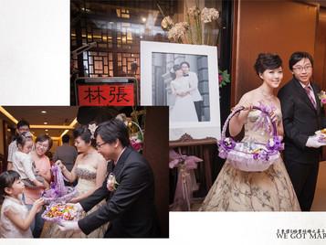 ++婚禮紀錄++ 東澄&浩雲-宴客 地點/人道國際酒店 麗尊大飯店
