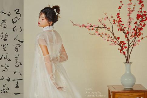 高雄新秘 新秘推薦 中國風造型 中式造型 中國風 古典造型 復古造型