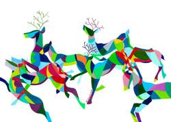 Flight [deer]