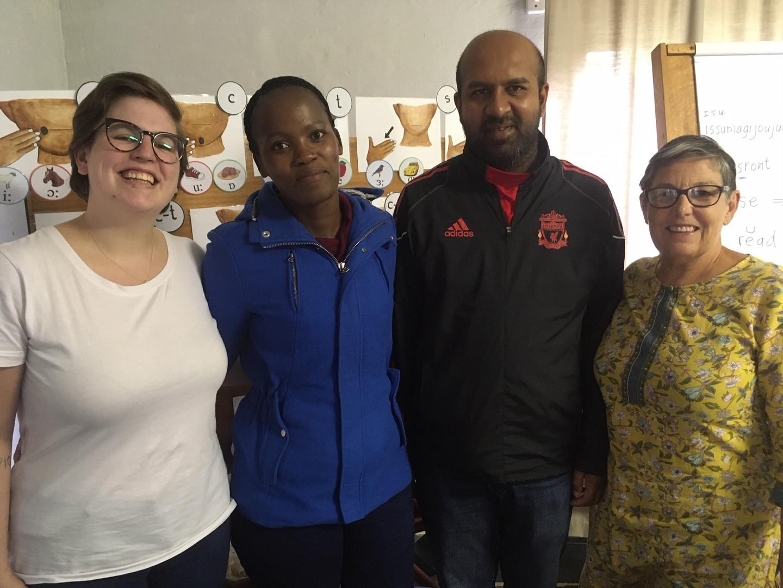 Rebecca, Thandiwe, Amaren & Arlene  Cued English Foundation Course Feb 2020