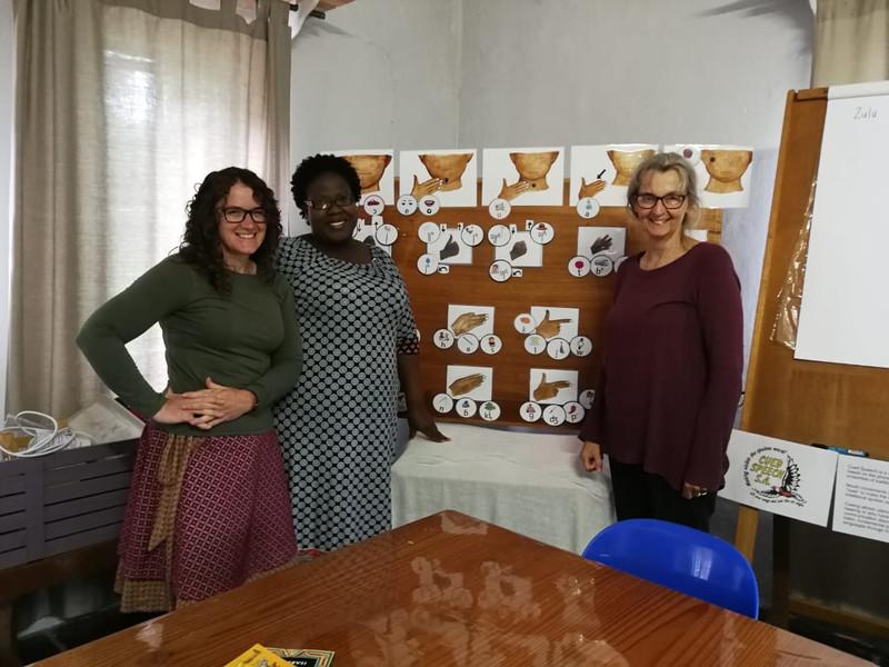 Making Cued Zulu a reality.  Amazing effort from these 3 ladies Lynette Diederichs, Jocelyn Mngomezulu & Busisiwe Mzobi