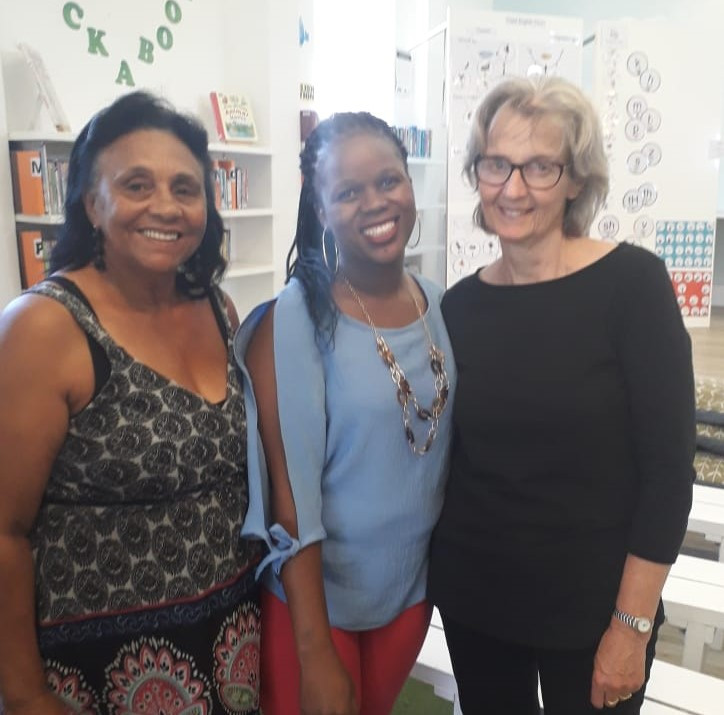 Connecting with special people at Sunflower Centre, Cape Town