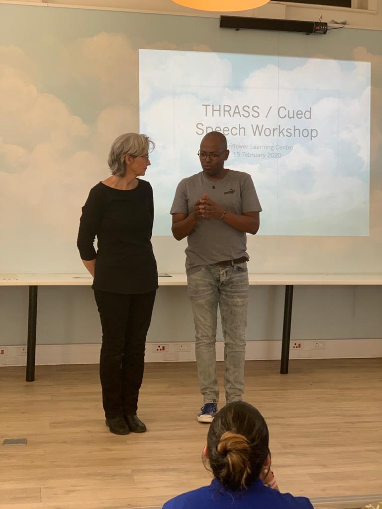 THRASSCUE workshop, Sunflower Centre 15 February 2020
