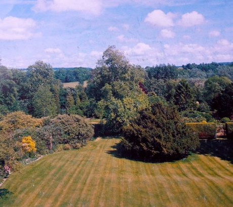 View from house towards River Meon 2004