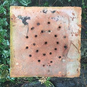 Tile from orangery.JPG