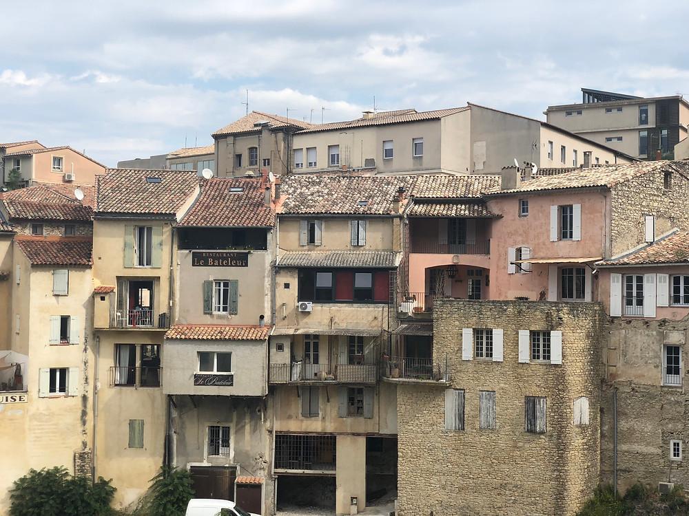 The town of Vaison la Romaine.