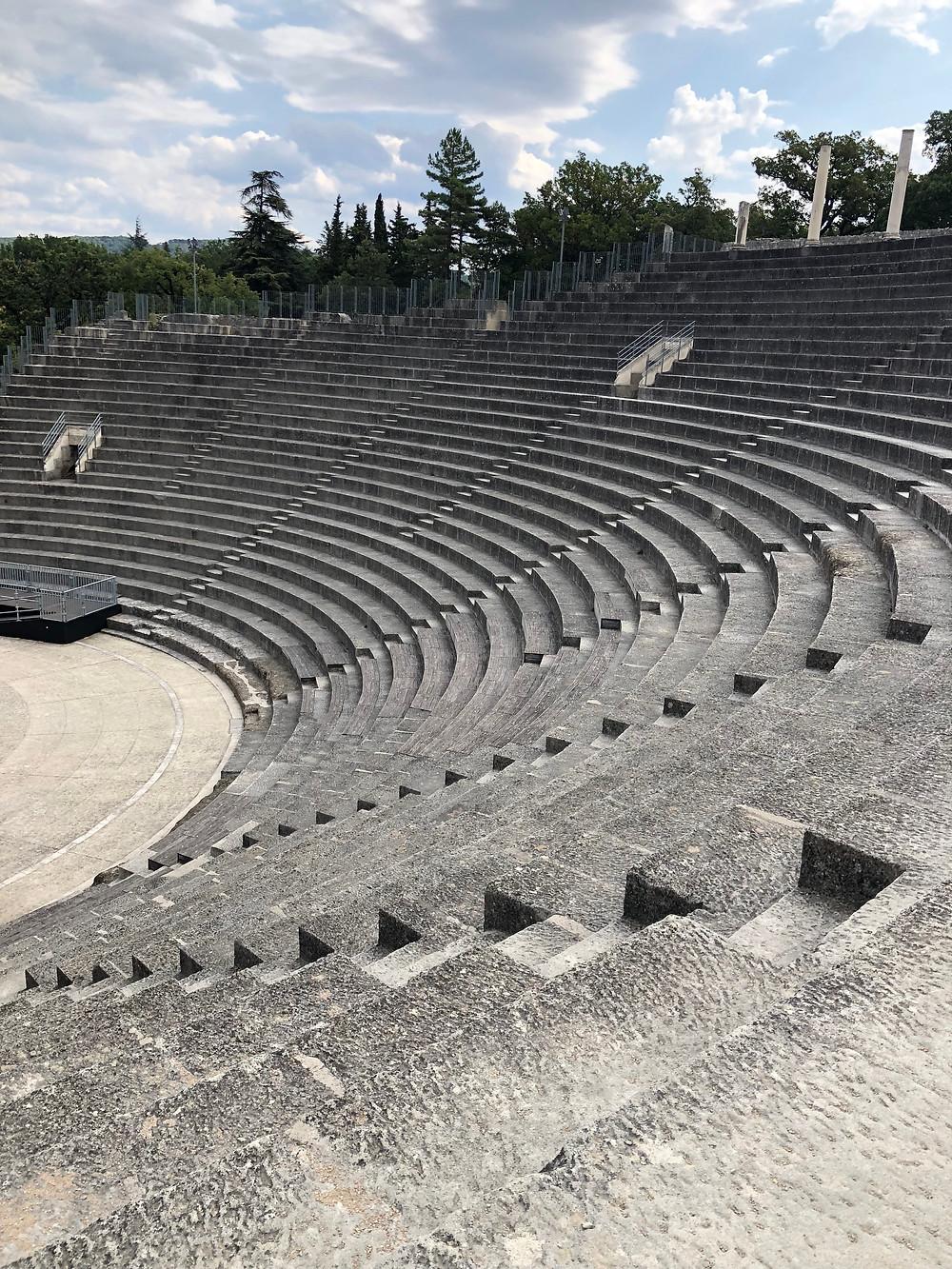 Vaison la Romain - Ancient Roman ruins.
