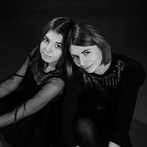 Edyta i Oliwia - mama i córka