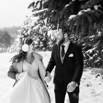 035zimowa sesja ślubna magdalena błachut