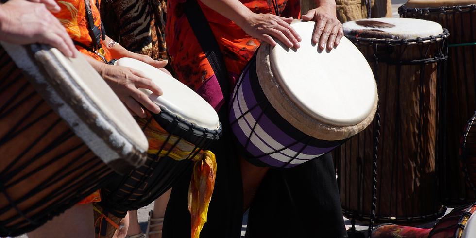 African Drum Workshop with Soul Drummer