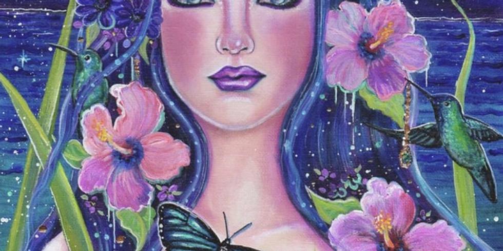 Sip & Paint ~ Goddess Dreaming