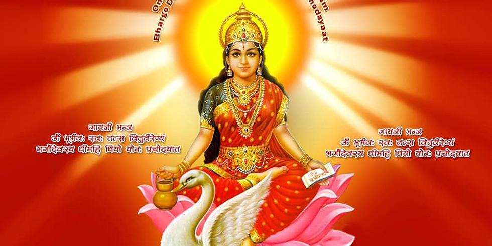108 rounds of Gayatri Mantra New Moon