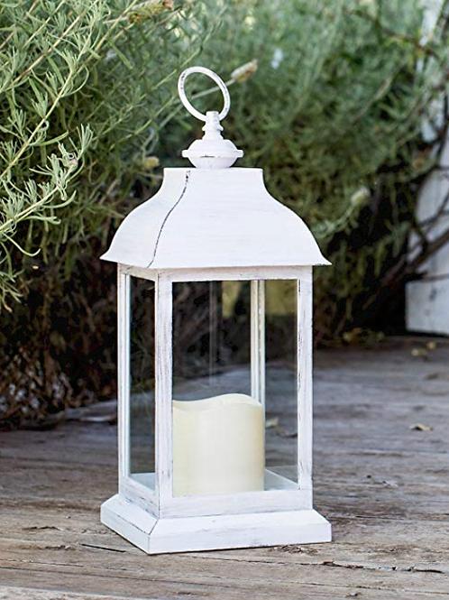 Lanterne blanche 30 cm