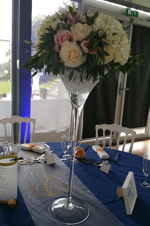 Vase martini 50 cm