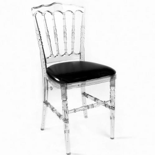 Chaise napoléon cristal