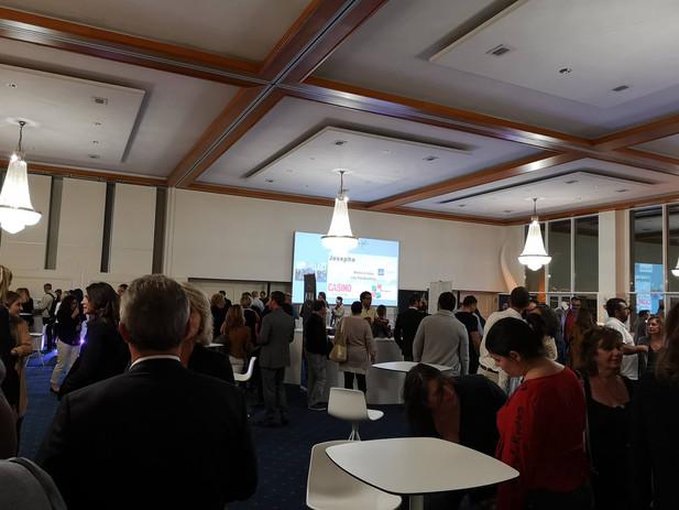 inauguration palais des congrés