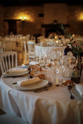 La table des invités