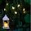 Thumbnail: Lanterne blanche 30 cm
