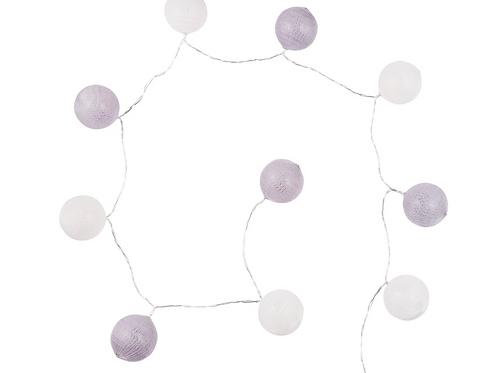 Guirlande lumineuse en coton