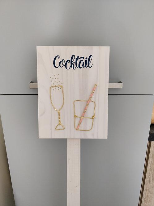 Panneaux signalisation cocktail