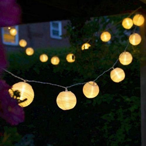 Guirlande lumineuse lampion