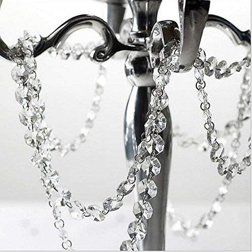 Guirlande de perles de cristal