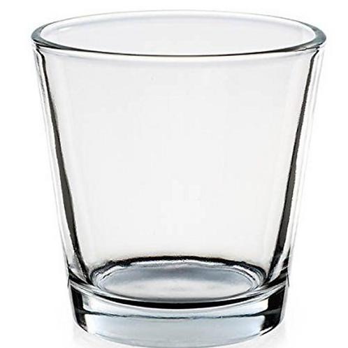 Bougeoir en verre
