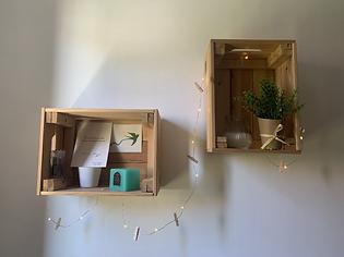 caisse bois-décoration-guirlande-plante-décoration-DIY-tuto