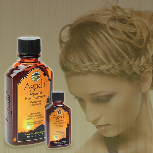 AGADIR HAIR TREATMENT OIL 2oz