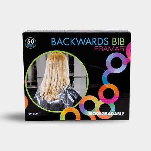 Backwards Bib - 50 Biodegradable bibs