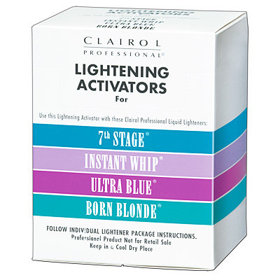 CLAIROL PROFESSIONAL LIGHTENING ACTIVATORS