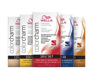 WELLA COLOR CHARM LIQUID 2oz 544/6RG