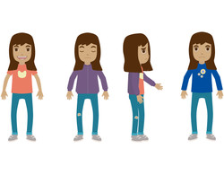 Character Design Nour