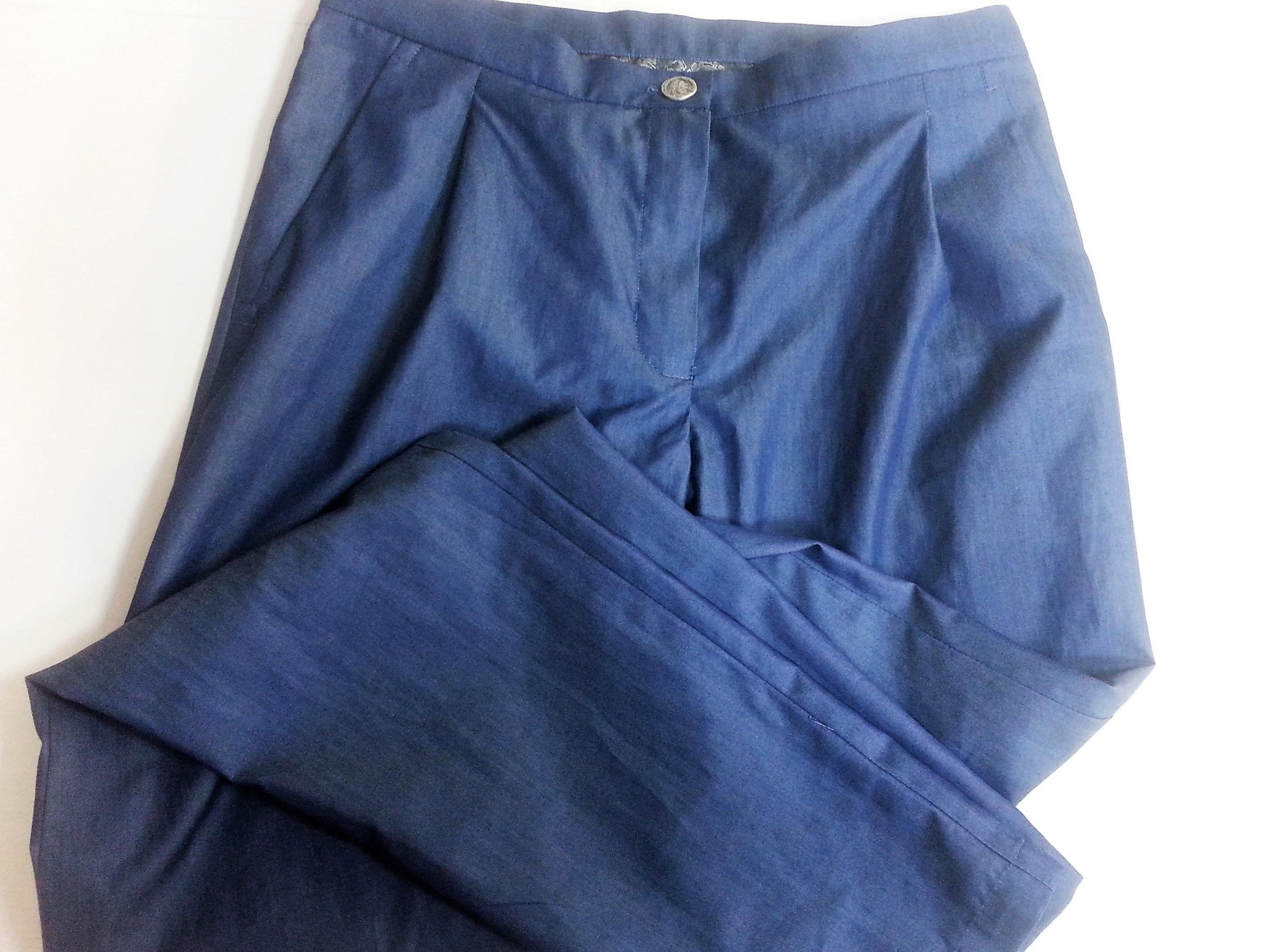 Брюки летние из тонкой джинсы