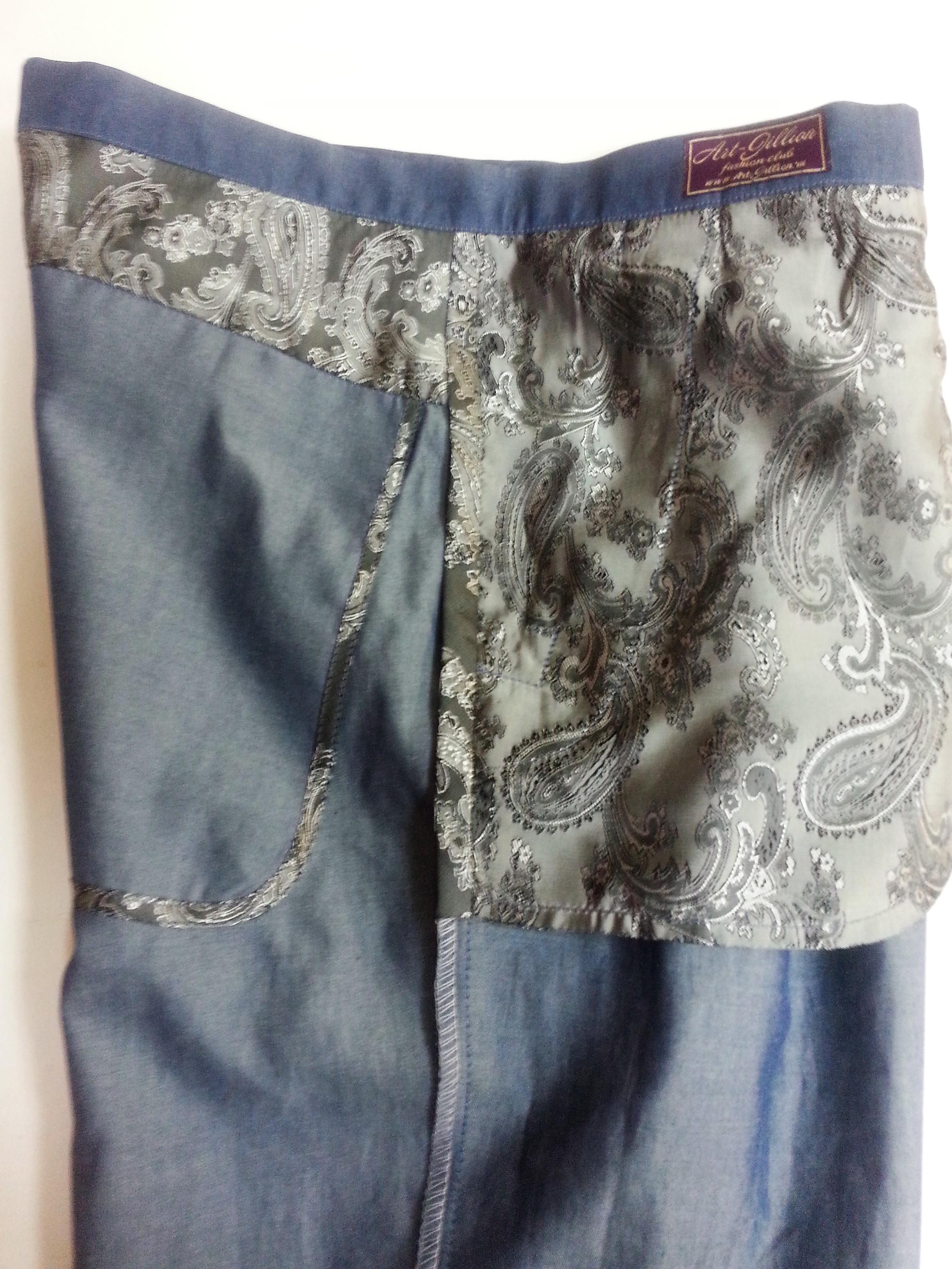 Внутренняя отделка брюк