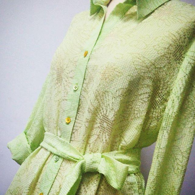 Платье-рубашка на заказ